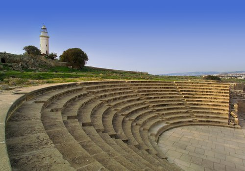 Ancient Odeon (Paphos, lighthouse, historical site).jpg